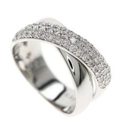 ポンテヴェキオ クロスデザイン/ダイヤモンド リング・指輪レディース