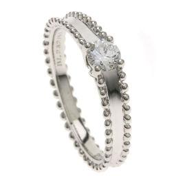 ヴァンクリーフ&アーペル エステル ソリティア ダイヤモンド #55 リング・指輪レディース