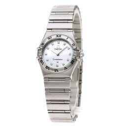 オメガ 1567.76 コンステレーション 12Pダイヤモンド 腕時計レディース