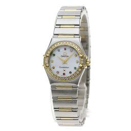オメガ 1367.70.00 コンステレーション ミニ アイリス 腕時計レディース