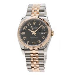 ロレックス 116231 デイトジャスト コンセントリック アラビア 腕時計メンズ