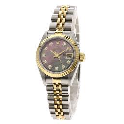 ロレックス 79173NG デイトジャスト 10Pダイヤモンド 腕時計レディース