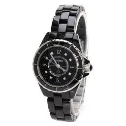 シャネル H2569 J12 8Pダイヤモンド 腕時計レディース
