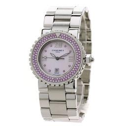 ショーメ 622-13389 クラスワン ピンクサファイア 腕時計 OH済レディース