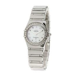 オメガ 1475.71 コンステレーション ダイヤモンドベゼル 腕時計レディース