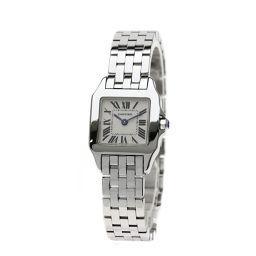 カルティエ W25064Z5 サントスドゥモワゼル SM 腕時計レディース