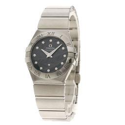 オメガ コンステレーション ブラッシュ 12Pダイヤモンド 腕時計レディース