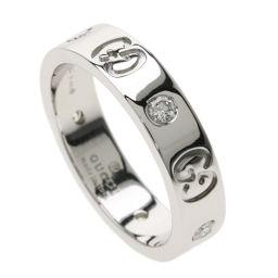 グッチ アイコンリング ダイヤモンド #9 リング・指輪レディース