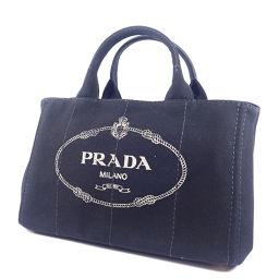 PRADA プラダ  カナパ ハンドバッグ キャンバス レディース