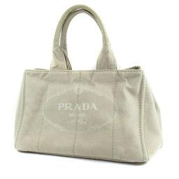 PRADA プラダ  カナパ トートバッグ キャンバス レディース