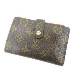 ルイ・ヴィトン M61674 ポルトフォイユ・ヴィエノワ 二つ折り財布(小銭入れあり)レディース