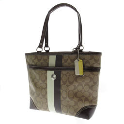 Coach F14477 Signature Tote Bag Women's
