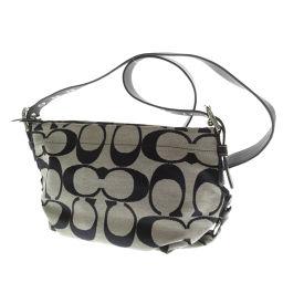 Coach F15068 Signature Shoulder Bag Women's