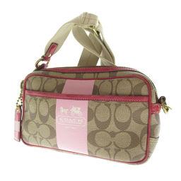 Coach 11355 Signature Shoulder Bag Women's