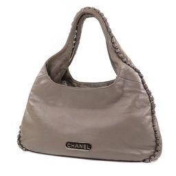 Chanel Logo Design Handbag Women's