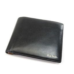 ポール・スミス ロゴマーク 二つ折り財布(小銭入れあり)メンズ