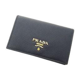 プラダ ロゴモチーフ カードケースレディース