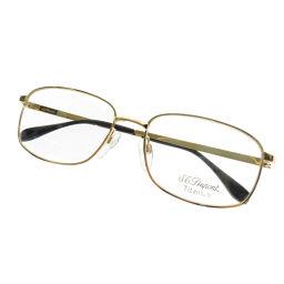デュポン 度なし ロゴマーク 眼鏡ユニセックス