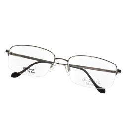 デュポン 度なし ロゴデザイン 眼鏡ユニセックス