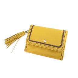 ランセル タッセル 二つ折り財布(小銭入れあり)レディース