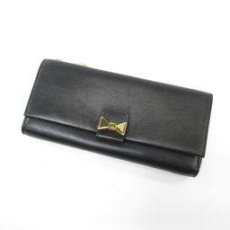 クロエ リボンモチーフ 長財布(小銭入れあり)レディース