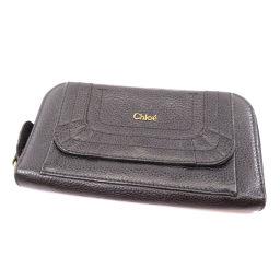 クロエ ロゴマーク  長財布(小銭入れあり)レディース