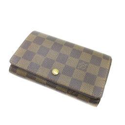 ルイ・ヴィトン N61730 ポルトモネ・ビエトレゾール 二つ折り財布(小銭入れあり)レディース
