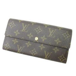 ルイ・ヴィトン M61734 ポルトフォイユサラ 06新 長財布(小銭入れあり)ユニセックス