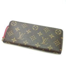 ルイ・ヴィトン M61536  ポルトフォイユ・クレマンス 長財布(小銭入れあり)レディース