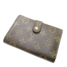 ルイ・ヴィトン M61674 ガマグチ ポルトフォイユ・ヴィエノワ 二つ折り財布(小銭入れあり)レディース
