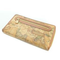 プリマクラッセ 地図柄 長財布(小銭入れあり)レディース