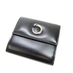 カルティエ パンサーモチーフ 二つ折り財布(小銭入れあり)レディース
