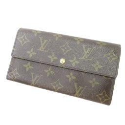 ルイ・ヴィトン M61725 ポルトフォイユ・サラ 旧型 長財布(小銭入れあり)ユニセックス