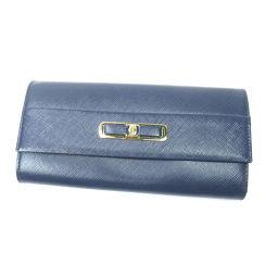 サルヴァトーレフェラガモ リボンモチーフ 長財布(小銭入れあり)レディース