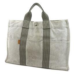 HERMES TOWAR ASH MM Tote Bag Women's