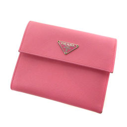 プラダ サフィアーノ 二つ折り財布(小銭入れあり)レディース