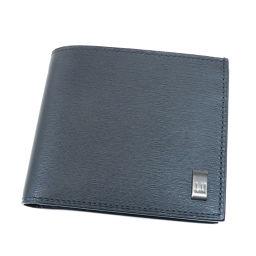 ダンヒル ロゴプレート 二つ折り財布(小銭入れあり)メンズ