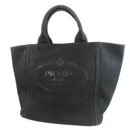プラダ ロゴデザイン トートバッグレディース
