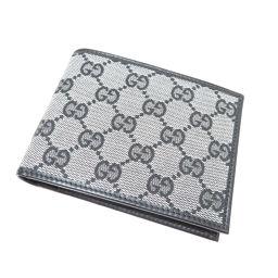 グッチ 278596・4276 GG柄 アウトレット 二つ折り財布(小銭入れなし)メンズ