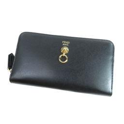 フェンディ ロゴマーク 長財布(小銭入れあり)レディース