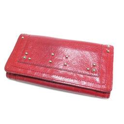 クロエ ロゴ型押し 長財布(小銭入れあり)レディース