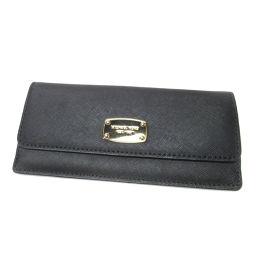 マイケルコース ロゴプレート 長財布(小銭入れあり)レディース