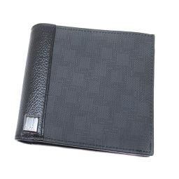 ダンヒル ロゴモチーフ 二つ折り財布(小銭入れあり)レディース