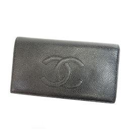 シャネル ココマーク 長財布(小銭入れあり)レディース