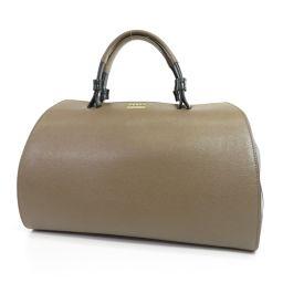 Furla Logo Design Bicolor Handbag Women's