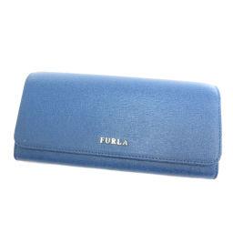 フルラ ロゴマーク 長財布(小銭入れあり)レディース