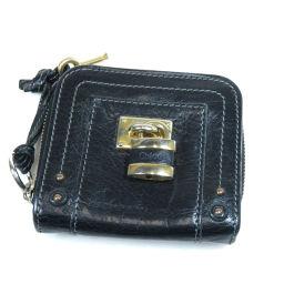 クロエ カデナモチーフ 二つ折り財布(小銭入れあり)レディース