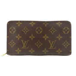 ルイヴィトン M61727 ポルトモネ・ジップ 長財布(小銭入れあり)レディース