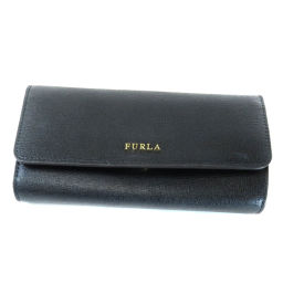 フルラ ロゴモチーフ 長財布(小銭入れあり)レディース