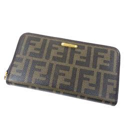 フェンディ ズッカ 長財布(小銭入れあり)レディース